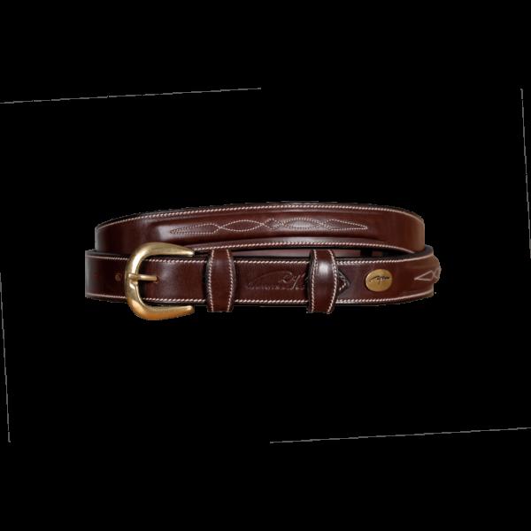 Dyon Leather Belt RLA Fancy