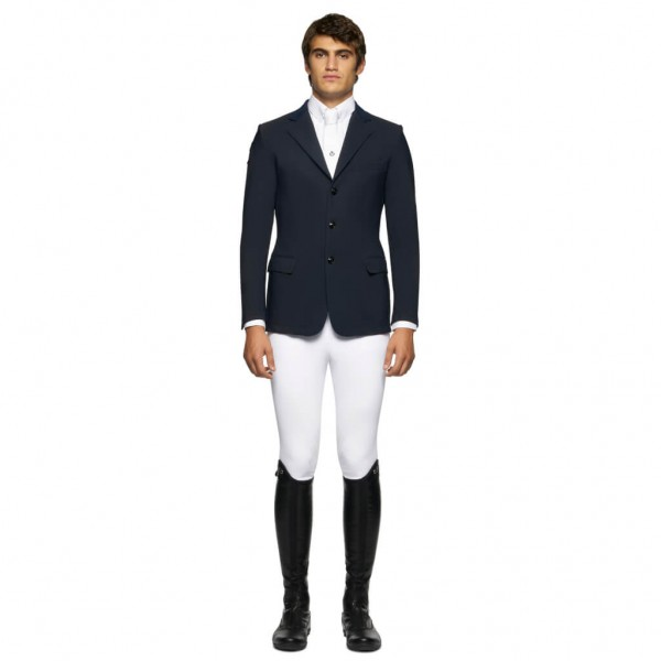 Cavalleria Toscana Men's Jacket GP Perforated HW21, Competition Jacket, Show Jacket
