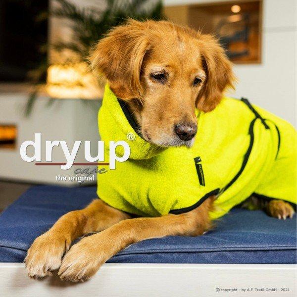 Action Factory Dog Coat Dryup Cape Original Lime
