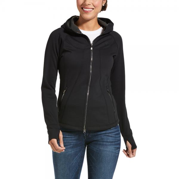 Ariat Women's Sweat Jacket Attain Full Zip Hoodie HW21
