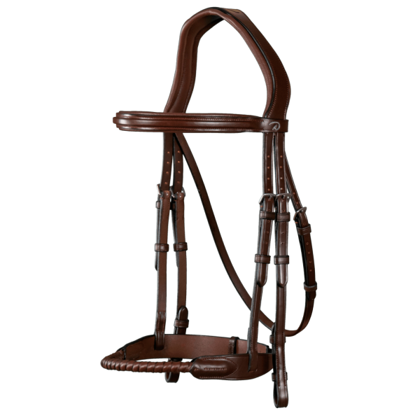 Dyon Bridle NEC with Braided Noseband