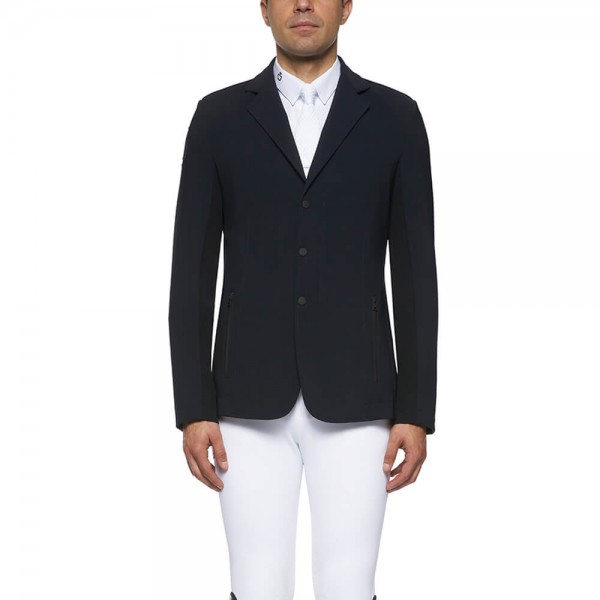 Cavalleria Toscana jacket men's Tech Knit Zip Riding Jacket FS21, tournament jacket, tournament jacket.