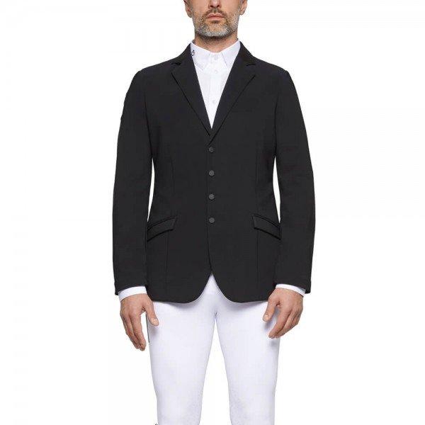 Cavalleria Toscana Men's Jacket Lightweight Jersey Zip Riding HW21, Competition Jacket, Tournament Jacket