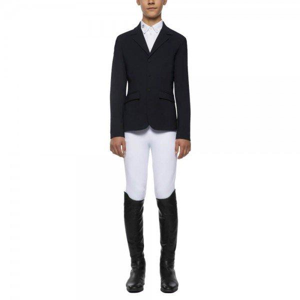 Cavalleria Toscana Jacket Boys' Lightweight Jersey Zip Riding HW20, Tournament Jacket, Tournament Jacket
