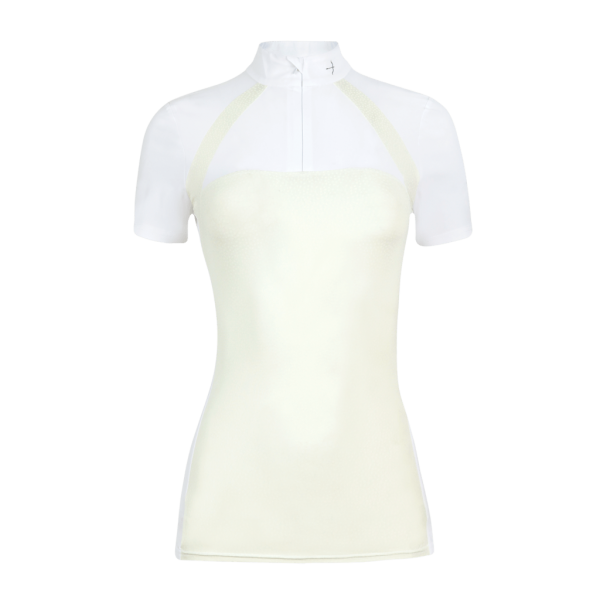 Laguso Competition Shirt Women's Blake Leavesdots HW21, Short Sleeve