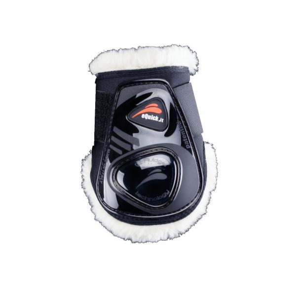 eQuick Fetlock Boots eShock Velcro Fluffy Legend Edition