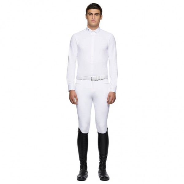 Cavalleria Toscana Competition Shirt Men Guibert HW21, Long Sleeve