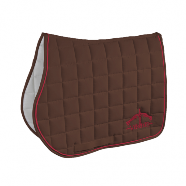 Veredus Jumping Saddle Pad Color Edition Brown
