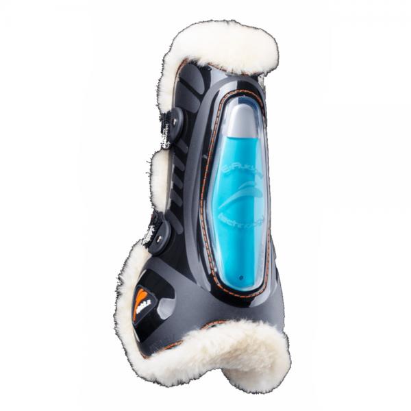 eQuick Tendon Boots eShock Fluffy Velcro