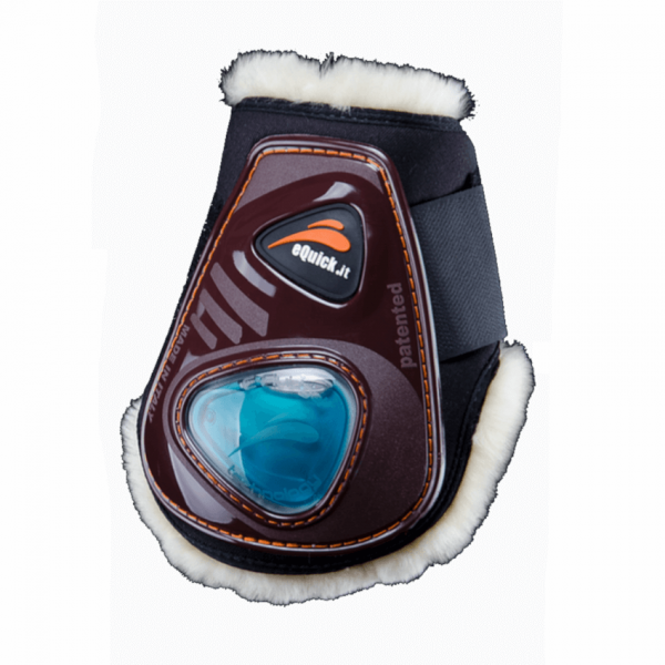 eQuick eShock Fluffy Velcro Fetlock Boots