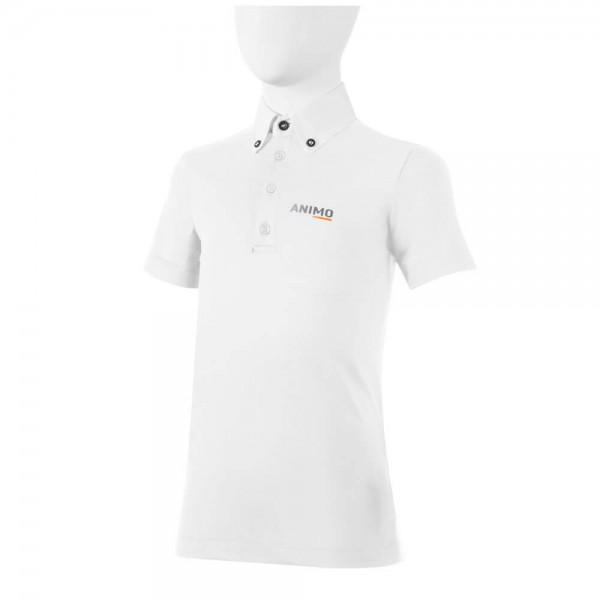 Animo Competition Shirt Boy's Antis FS21, Competition Polo, Short Sleeve
