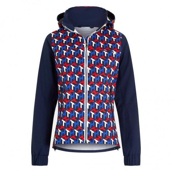 Tommy Hilfiger Equestrian Women's Rain Jacket Iconic Monogram FS21