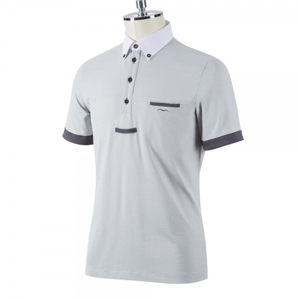 Animo Competition Shirt Men's Avol FS21, Competition Polo, Short Sleeve