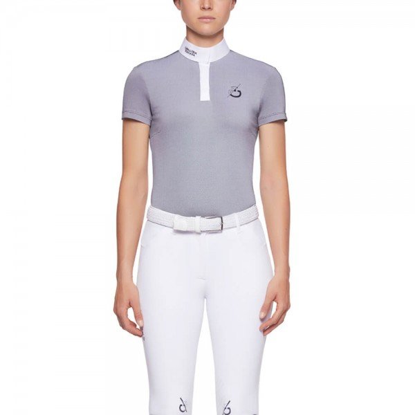 Cavalleria Toscana Competition Shirt Ladies CT Team S/S Competition Polo FS21