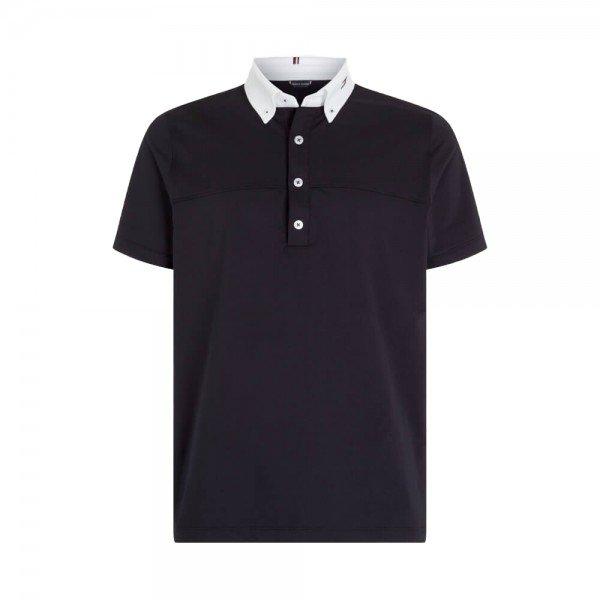 Tommy Hilfiger Equestrian Men's Competition Shirt Short Sleeve FS21