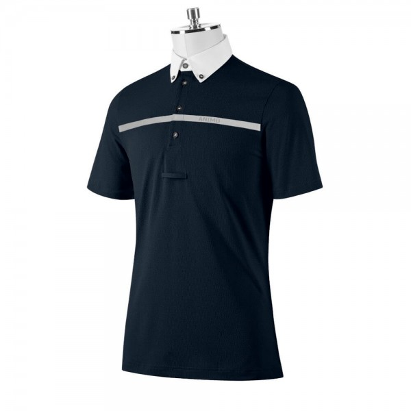 Animo Competition Shirt Men's Alfio FS21, Competition Polo, Short Sleeve