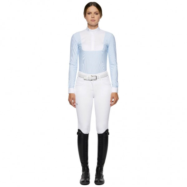 Cavalleria Toscana Women´s Competition Shirt Jersey L/S Competition Shirt w/Poplin Bb HW21