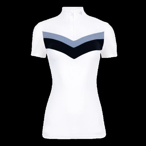 Laguso Competition Shirt Women Vina HW21, Short Sleeve