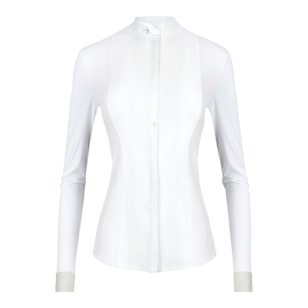 Laguso Competition Shirt Women's Janne Cuff HW21, Competition Blouse, Long Sleeve