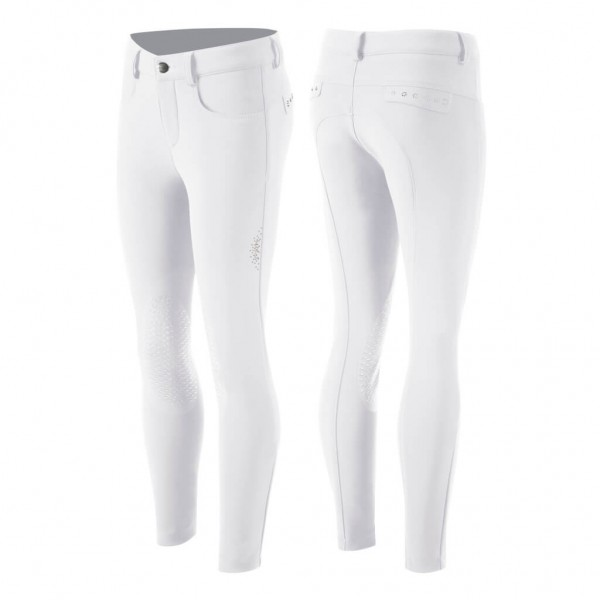 Animo Breeches Girls' Nossy HW21, Knee Patches, Knee-Grip