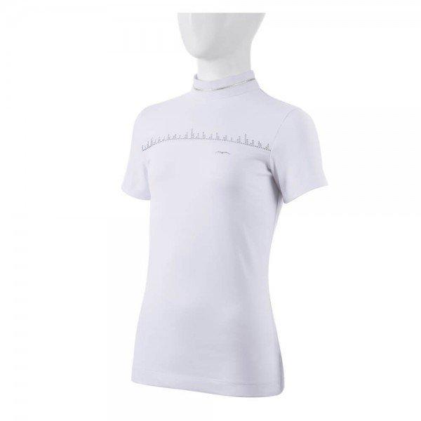 Animo Competition Shirt Girls Baute FS21, Short Sleeve, Glitter