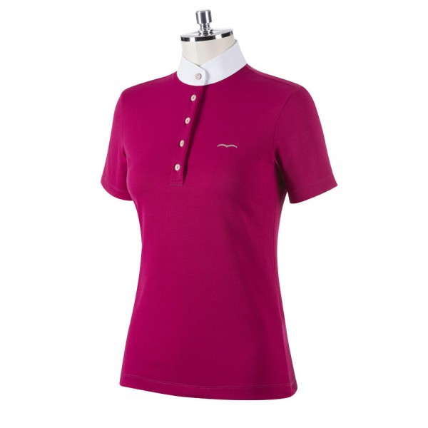 Animo Competition Shirt Women's Basil FS21, Short Sleeve