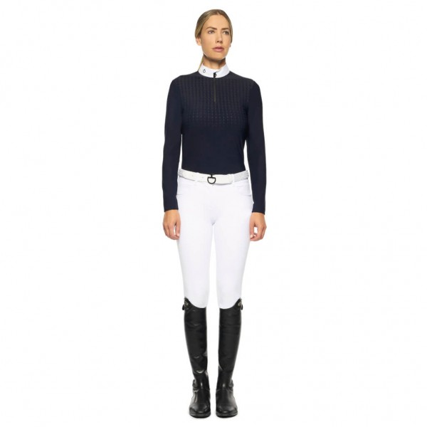Cavalleria Toscana Competition Shirt Women's CT Phases HW21, Long Sleeve