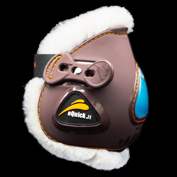 eQuick eUp Mini Elastic Fluffy Fetlock Boots